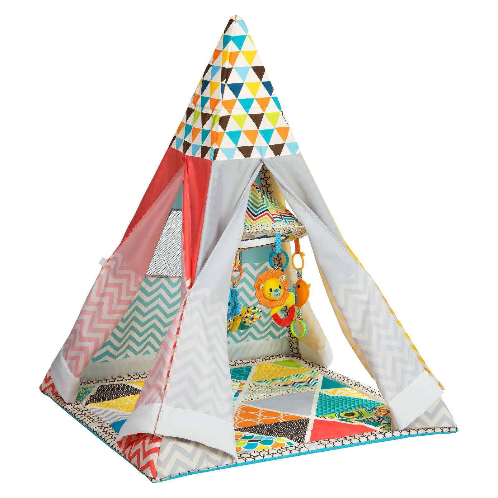 Model 2017 Infantino Go Gaga Infant to Toddler Play Gym Teepee for