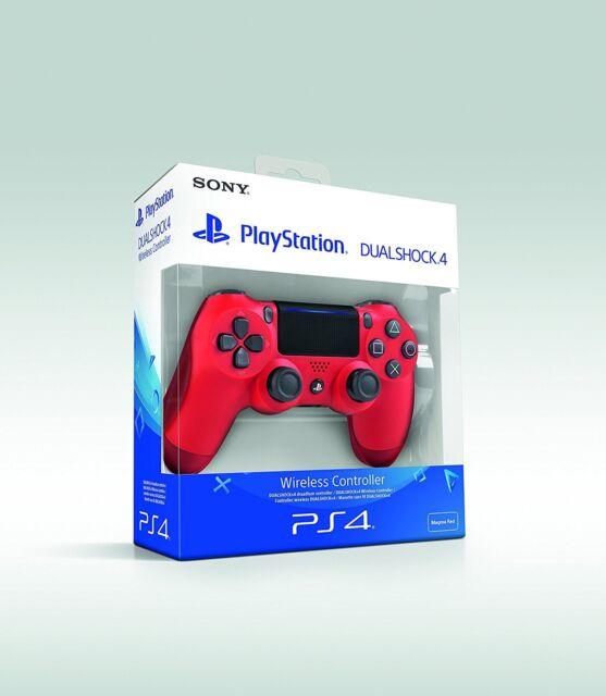 ORIGINAL PLAYSTATION 4 PS4 DUALSHOCK CONTR. IN ROT (2016) NEU/OVP