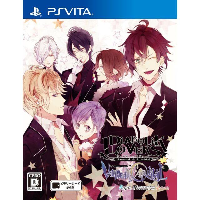 NEW PS Vita DIABOLIK LOVERS VANDEAD CARNIVAL Japanese from Japan
