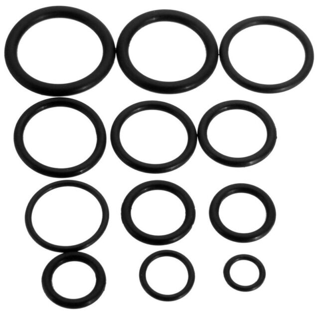 50x Rubber O-ring Assorted Sizes Set Kit for Plumbing Tap Seal Sink ...
