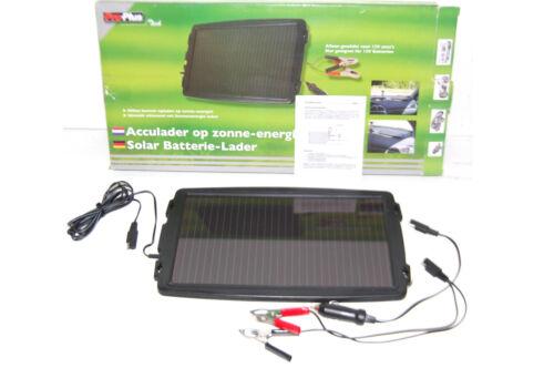 12V Autobatterie Solarladegerät Solarmodul Solarpanel Solar