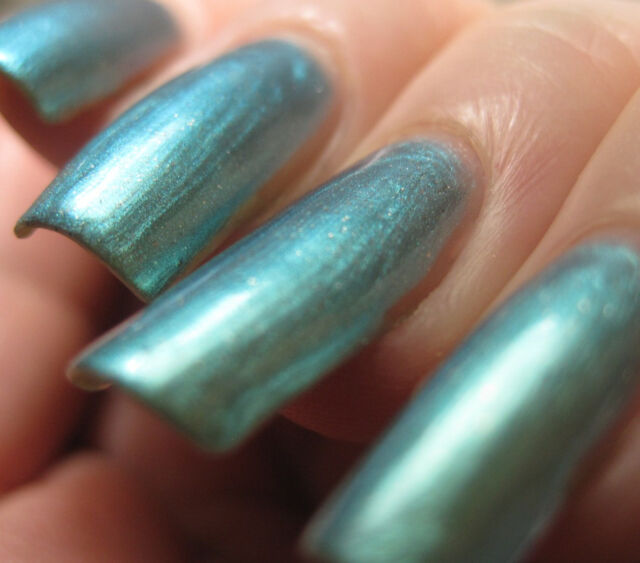 Misa Nail Enamel Polish Lacquer The Great Green Whatsit Blue/green ...