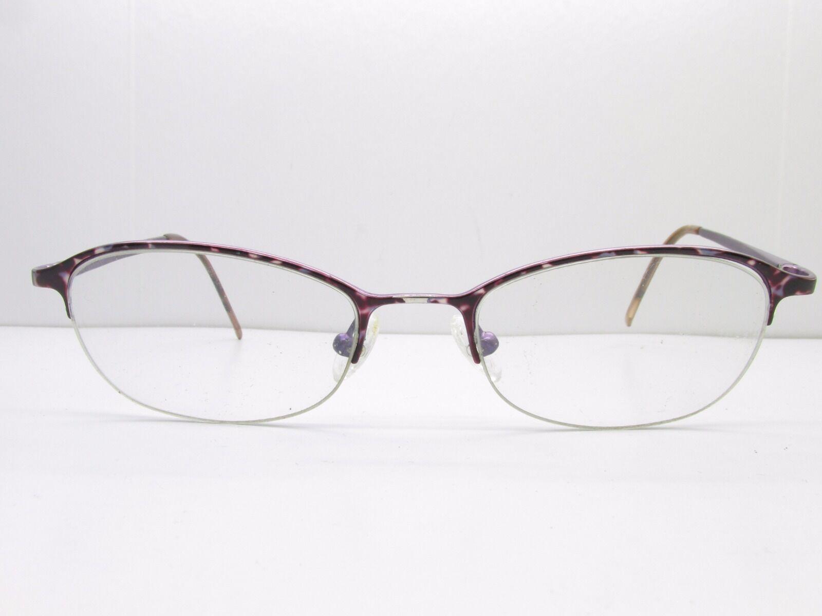 Safilo Elasta 4800 Eyewear Frames 52-18-135 Tortoise Half Rimless ...