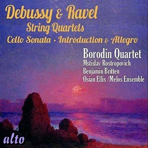Debussy / Ravel / Bo - String Quartets Introduction & Allegro Sonata for [New CD