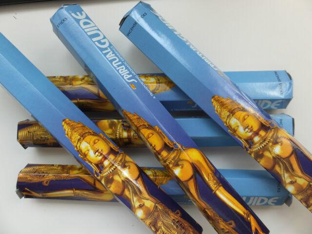 20 Stück. Räucherstäbchen Spiritual Guide - incense sticks - blau - Padmini