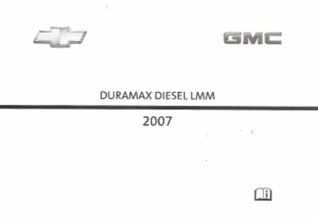 2007 chevy express silverado gmc savana sierra owners manual diesel rh ebay com