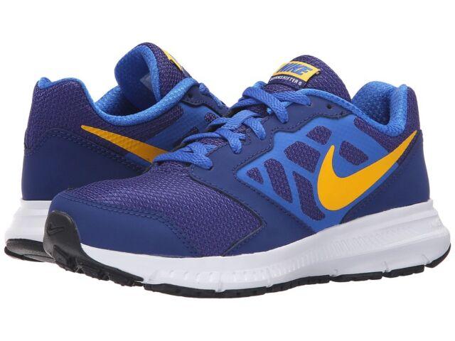 Nike Downshifter 6 GS/PS Deep Royal Blue/Varsity Maize 684979 402 Multiple  Sizes