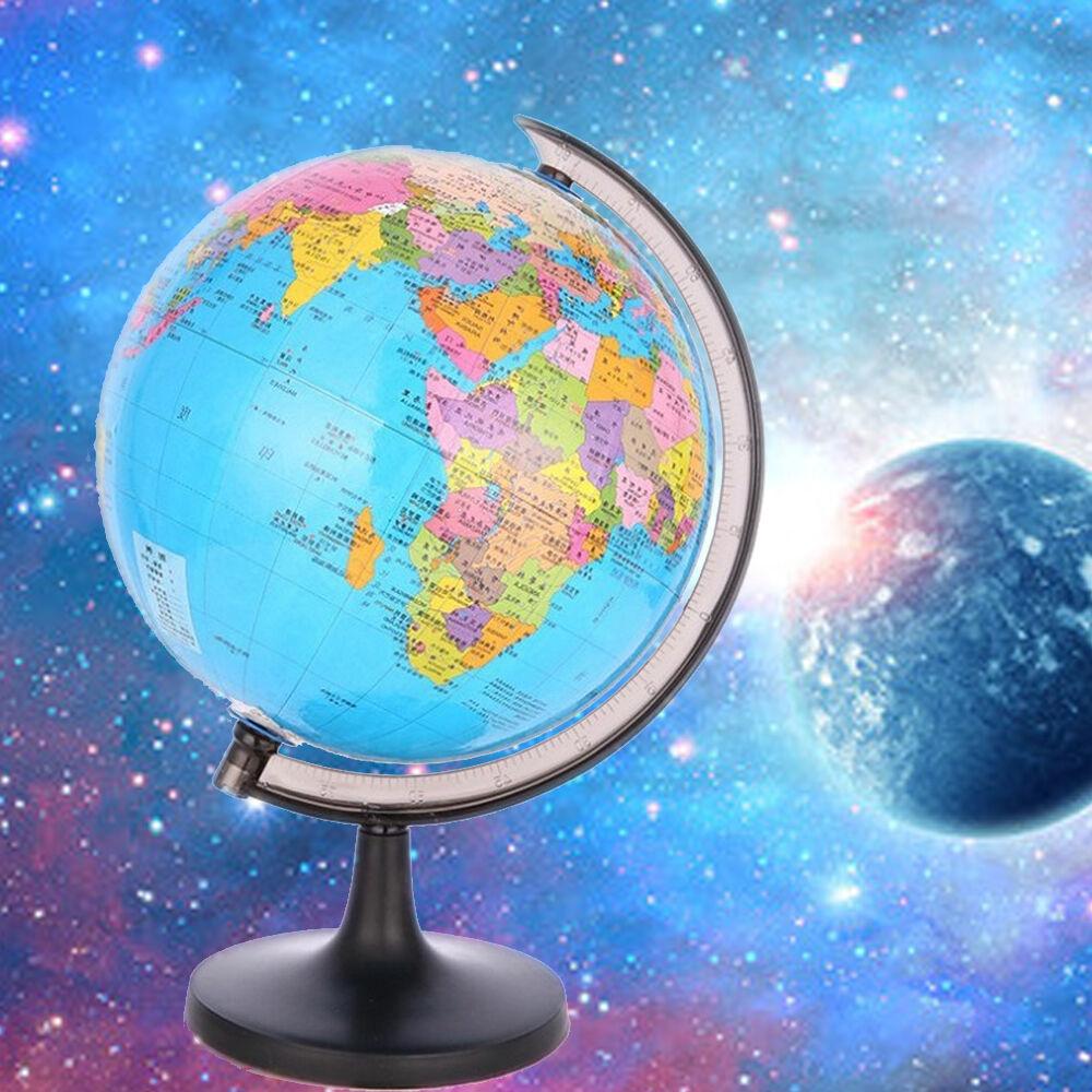 Pc Earth Globe Map Mini Rotating Tellurion Sphere Kids Early - Globe map for kids