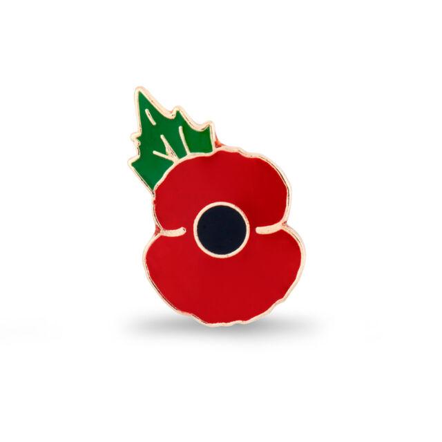 Royal British Legion   Poppy Lapel Pin Small