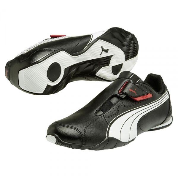 Puma Redon Move Sneaker Uomo 185999 nero bianco alta risk red 02