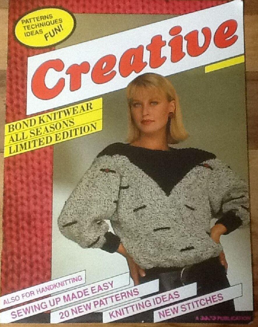 Creative Pattern Book for Bond USM Ultimate Sweater Machine ...