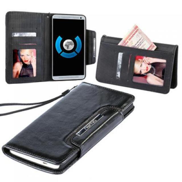 Book Style Handy Tasche Sony Xperia Z2 Schutz Hülle Flip Cover Etui Case Schale