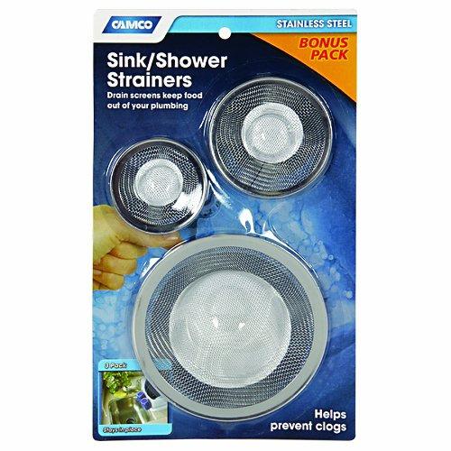 Camco 42273 Sink Shower Strainers Camper Trailer RV | eBay