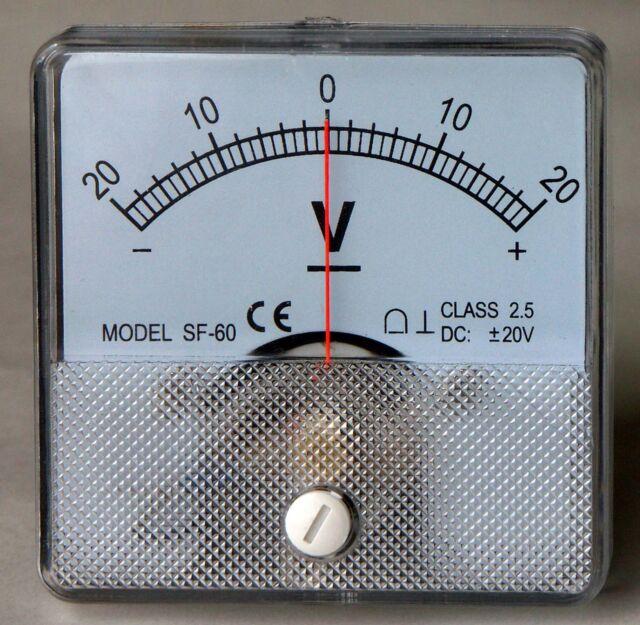 12 Volt Dc Amp Meter Analog : Dc analog volt meter panel mount pm ebay