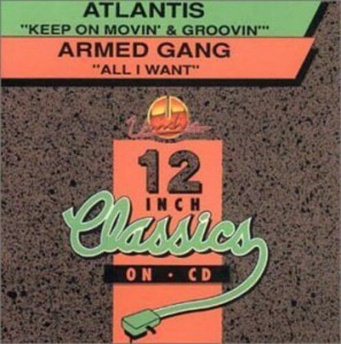 Atlantis - Keep on Movin & Groovin/All I Want [New CD] Canada - Import