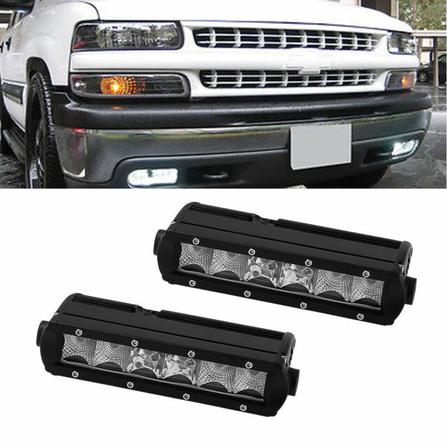 Led light bar for chevy 1500 2500 3500 tahoe 7 8 inch single row ebay led light bar for chevy 1500 2500 3500 tahoe 7 8 inch single row aloadofball Image collections
