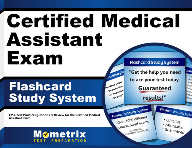 Certified Medical Assistant Exam Flashcard Study System : CMA Test ...