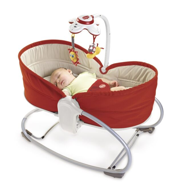 Tiny Love 3 In 1 Baby Rocker Napper Vibrating Swings Music Bouncer Feeding Chair