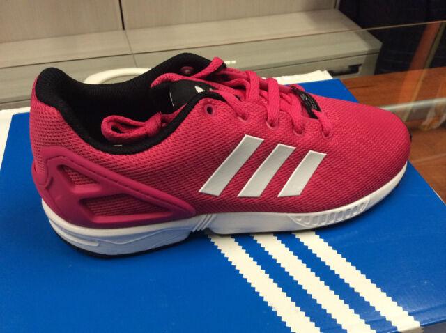 finest selection 85441 9b28e Adidas ZX Flux K S74952 bianco scarpe basse