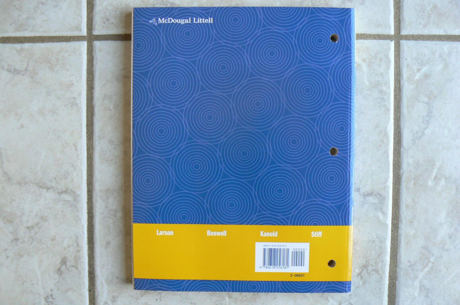 Workbooks mcdougal littell math course 1 practice workbook : McDougal Littell Middle School Math: McDougal Littell Middle ...
