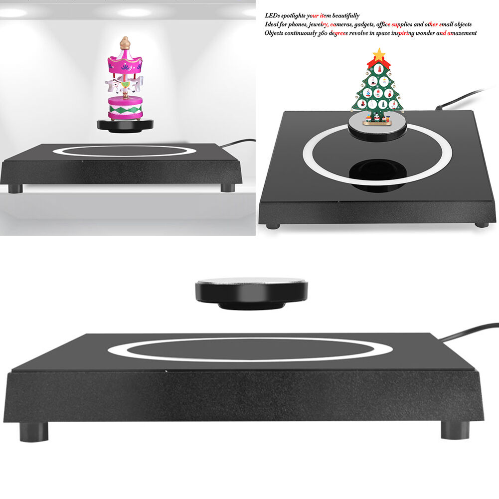 Led rotating magnetic levitron levitation floating plateform show picture 1 of 12 geotapseo Image collections
