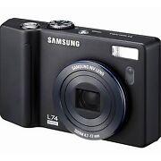 Samsung L74 Wide 7.2Mp Digital Camera with 3.57x ...