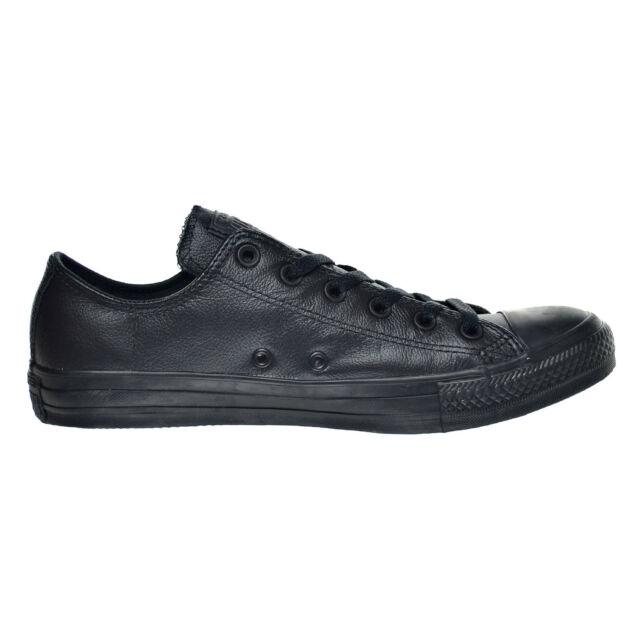 915e9af7d72 ... hot converse chuck taylor all star ox mens shoe black mono 135253c  7cb79 b4490 ...