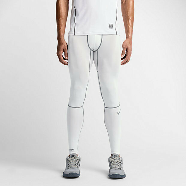 Nike Pro Combat Hypercool 3.0 Compression Tights 636157-100 SIZE L MSRP $55