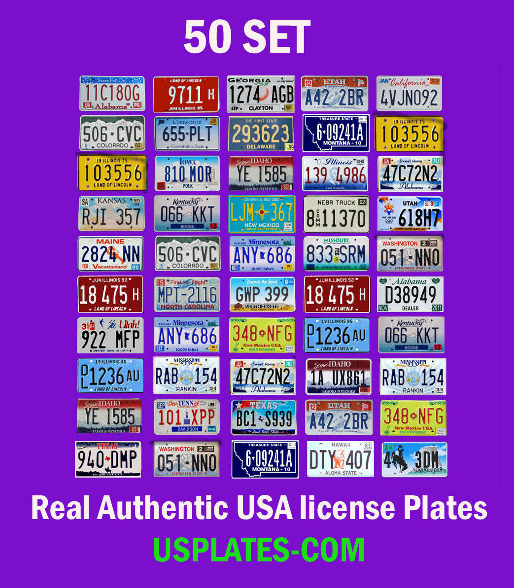USA Number Plates | eBay