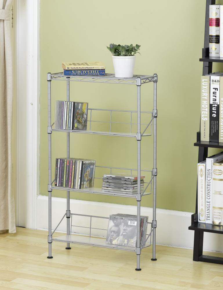magazin diy creative ideas racks modern and l dvd rack cd storage larger view