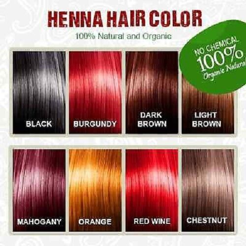 1x Henna Hair Dye Color 60g 100% organic & natural - PICK YOUR COLOR AUSSIE