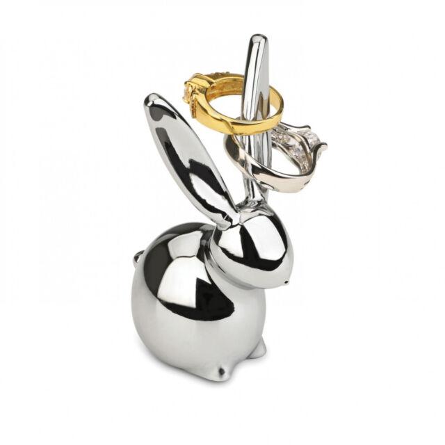 Umbra Zoola Bunny Ring Holder Chrome