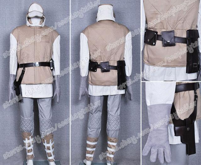 Star Wars ESB Luke Hoth Rebel Soldier Trooper Costume ...