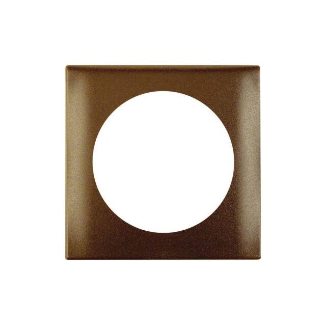 Berker 918272501 Abdeckrahmen 1-fach Integro Flow/Pure braun matt