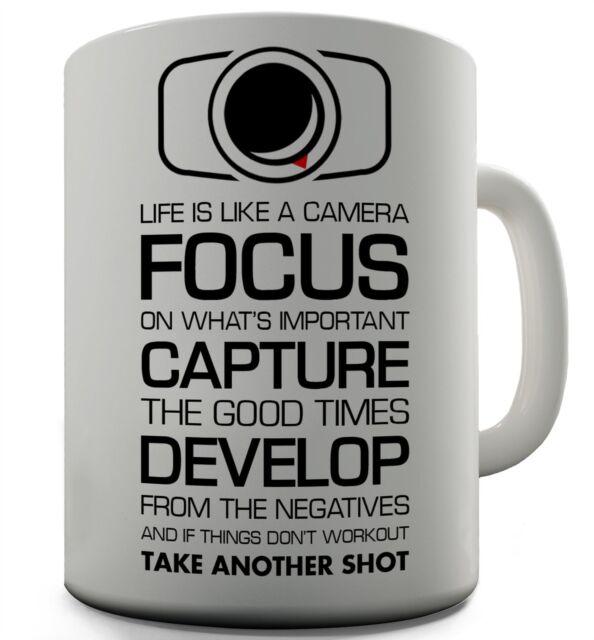 office mug. Camera Funny Design Novelty Gift Tea Coffee Office Mug