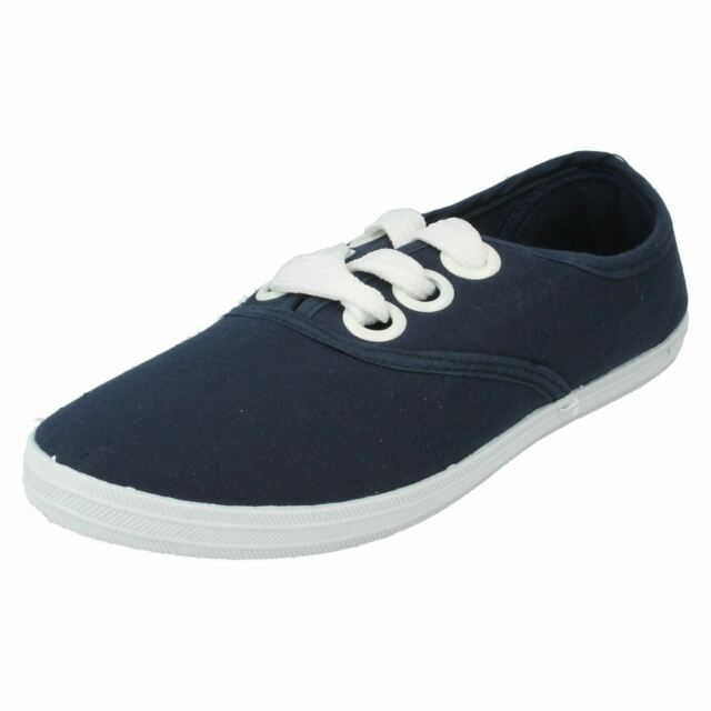 Sneakers blu con stringhe Spot on uJRSU9cq