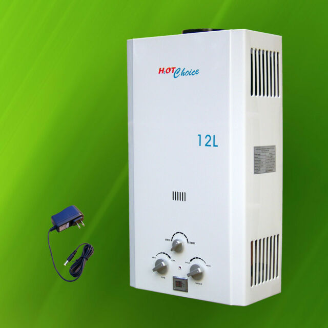 natural gas tankless water heater 12l hot choice ebay. Black Bedroom Furniture Sets. Home Design Ideas
