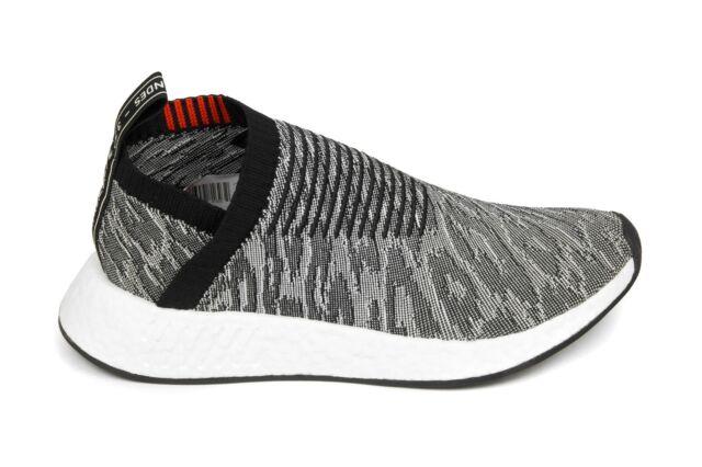 Adidas Originals NMD_CS2 Primeknit in Core Black/Core Black/Burgundy BZ0515  BNIB