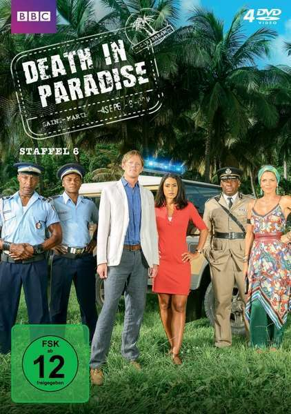 4 DVDs * DEATH IN PARADISE - STAFFEL / SEASON 6 # NEU OVP &