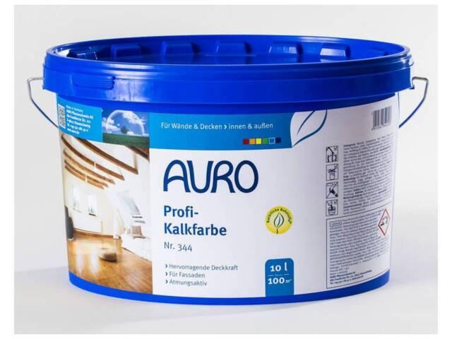 AURO Profi-Kalkfarbe Nr. 344 5 Liter Wandfarbe Deckenfarbe