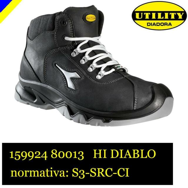 Diadora Diablo High S3 Ci Scarpe da Lavoro Unisex Adulto e8O