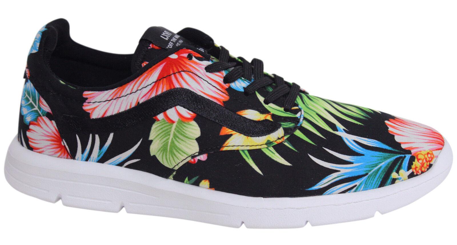 Vans Iso 1.5 lacci da uomo nero a fiori con motivo Scarpe da ginnastica XB8HEY Vans A