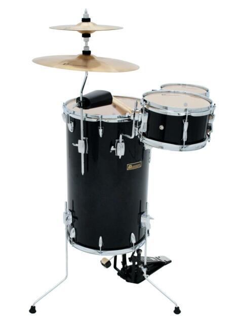 Schlagzeug schwarz Club Steh Set Drumset Schlagzeugset Drum NEU Drums