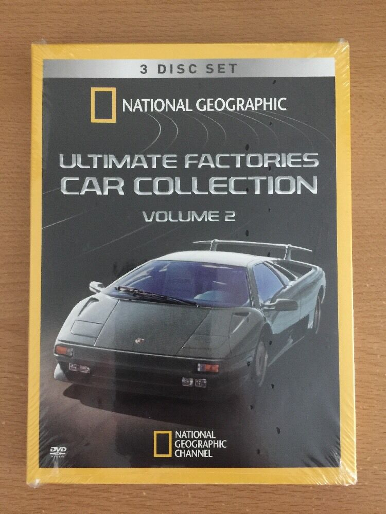 National Geographic Ultimate Factories Car Collection Volume 2 on 3