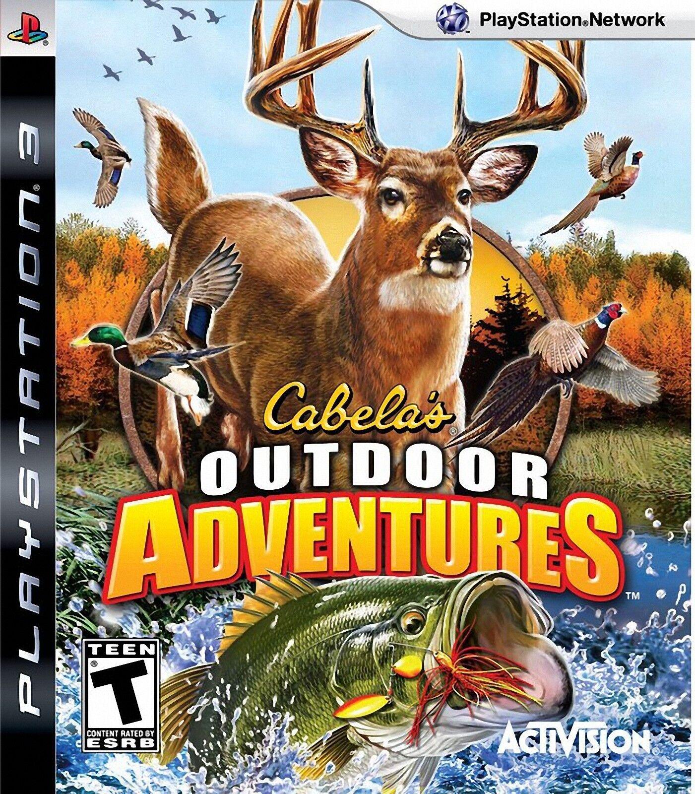cabela u0027s outdoor adventures sony playstation 3 2009 ebay