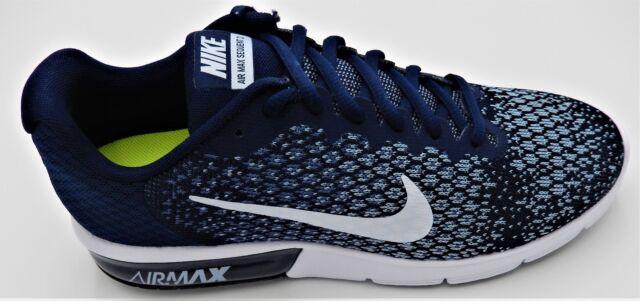 Nike Air Max Sequent 2 2 2 In esecuzione scarpe Mult Size 11 12 blu bianca   619f6d
