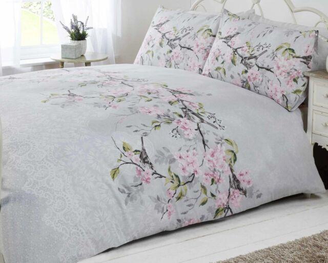 Eloise Oriental Blossom Printed Duvet Cover and Pillowcase Set ... : oriental quilt cover - Adamdwight.com