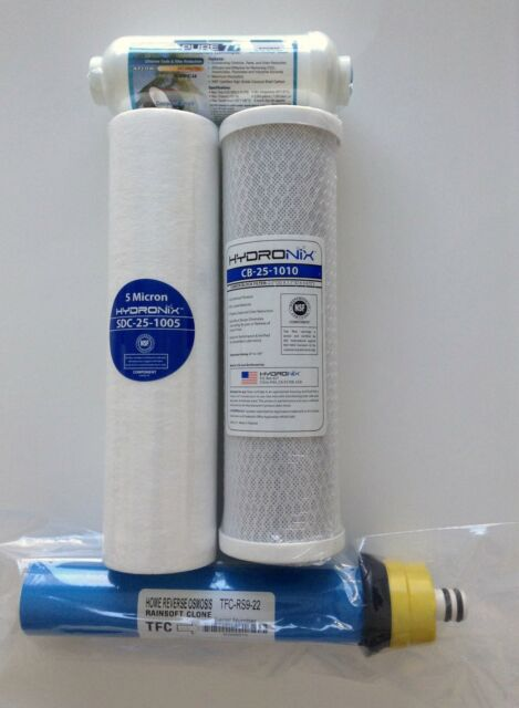 rainsoft ultrefiner 9596 22 gpd filter pack with in line - city and ...