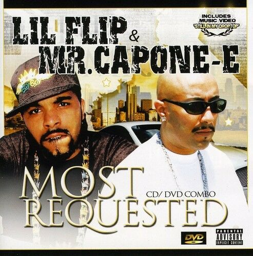 Lil' Flip, Mr. Capone-E & Lil Flip - Most Requested [New CD] Explicit, With DVD