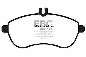 DP1989 EBC Ultimax Front Brake Pads for MERCEDES